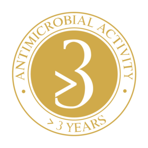 antimicrobial activity greater than 3 years