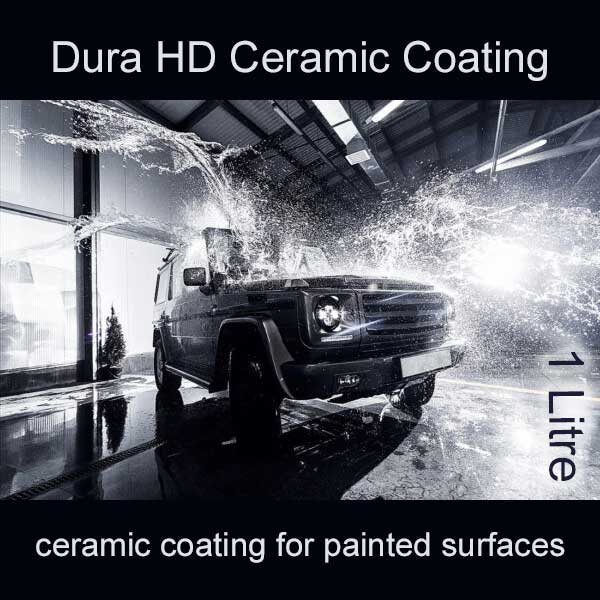 dura hd ceramic coating for painted surfaces